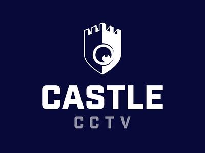 Castle CCTV Logo logo design independant vector illustration graphicdesign branding logo