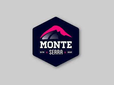 Monte Serra Badge italy monteserra cycling logodesign badgedesign graphicdesign