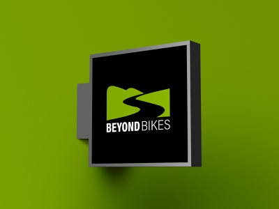 Beyond Bikes independent cycling branding logo design logo