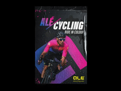 Alé Cycling  Ad Concept advert advertising poster branding design illustration cycling