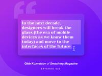 Design Standup: Episode  0️⃣2️⃣2️⃣