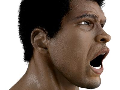 Muhammad Ali - G.O,A.T boxing 3d photoshop vector ecommerce illustration design branding muhammad ali