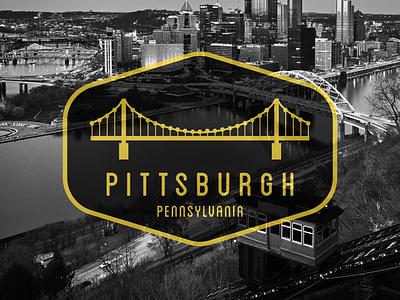 Pittsburgh Badge design graphicdesign badgedesign badge pennsylvania pittsburgh