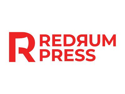 Redrum Press branding vector movies books horror icon logo typography graphicdesign design stephenking