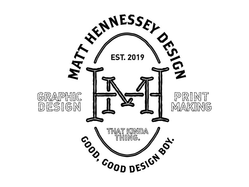 Matt Hennessey Design brand graphicdesign design type icon logo typography brandidentity personalbranding badgedesign badge branding
