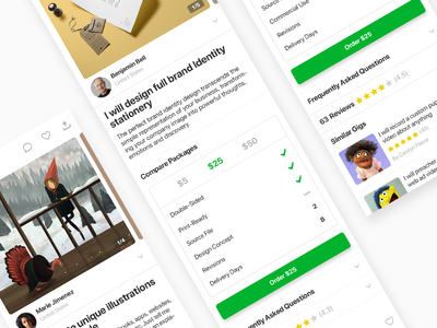 Fiverr - Gig Page