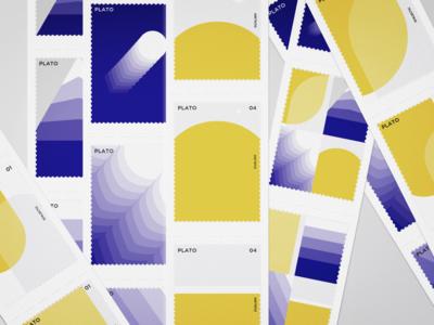 Minimalist Graphics Re-emphasizing Platonism