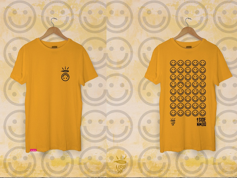 Upside Down T-Shirt identity illustration productdesign product branding