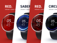 Exclusive watch faces for Android Wear smartwatches_1