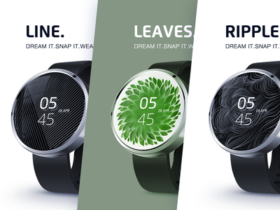 Exclusive watch faces for Android Wear smartwatches_2 app watch android time alarm clock smartwatch health notification alert moto360 360