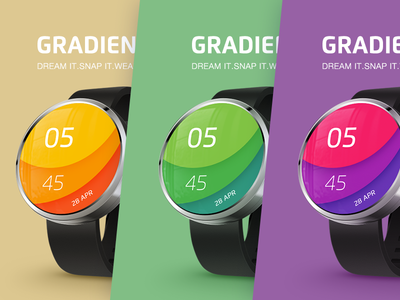 Exclusive watch faces for Android Wear smartwatches_3
