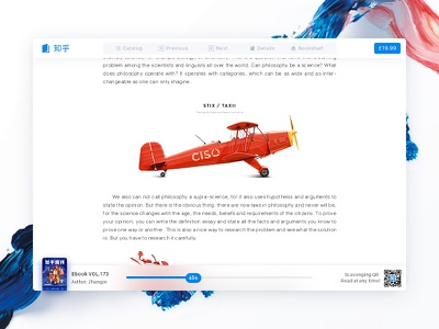 Zhihu ebook web reader work read zhihu system dashboard web pc book ebook reader