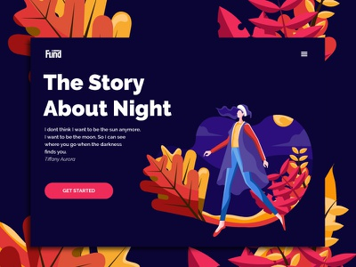 First Shoot - The Story About night web ux branding vector design illustration colorful flatillustration flat graphicdesign uiux ui landing page design landing page landingpage