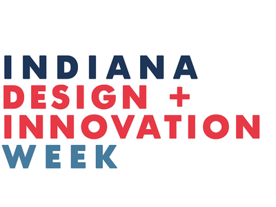 Indiana Design Week wordmark design week indiana logo wordmark