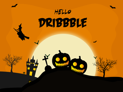 Horror dribbble - weekly warmup
