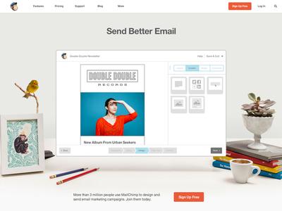Mailchimp Redesign