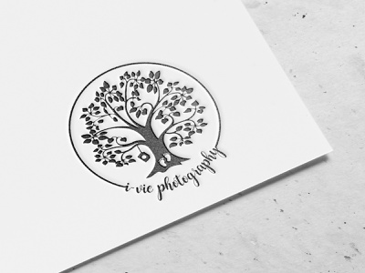 I-Vie Photography logo design photography brand design logo brand identity branding