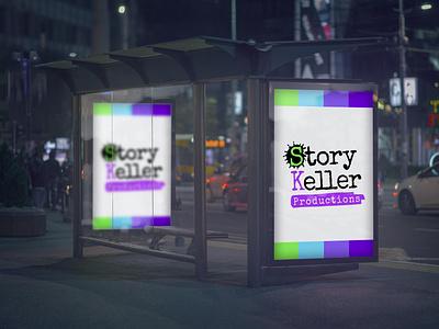 StoryKeller Productions branding logo design branding logo design visual brand identity photo manipulation brand design manipulation photoshop brand identity branding