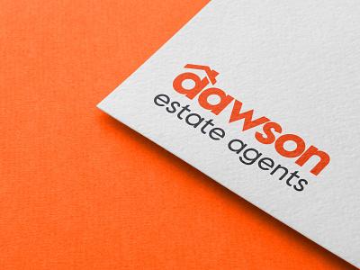 Dawson Estate Agents logo property branding property design realty real estate branding logo design logo brand identity branding