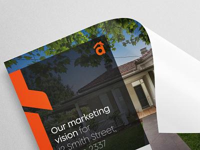 Dawson Estate Agents marketing collateral real estate brochure real estate marketing property design real estate brochure design brochure brand identity