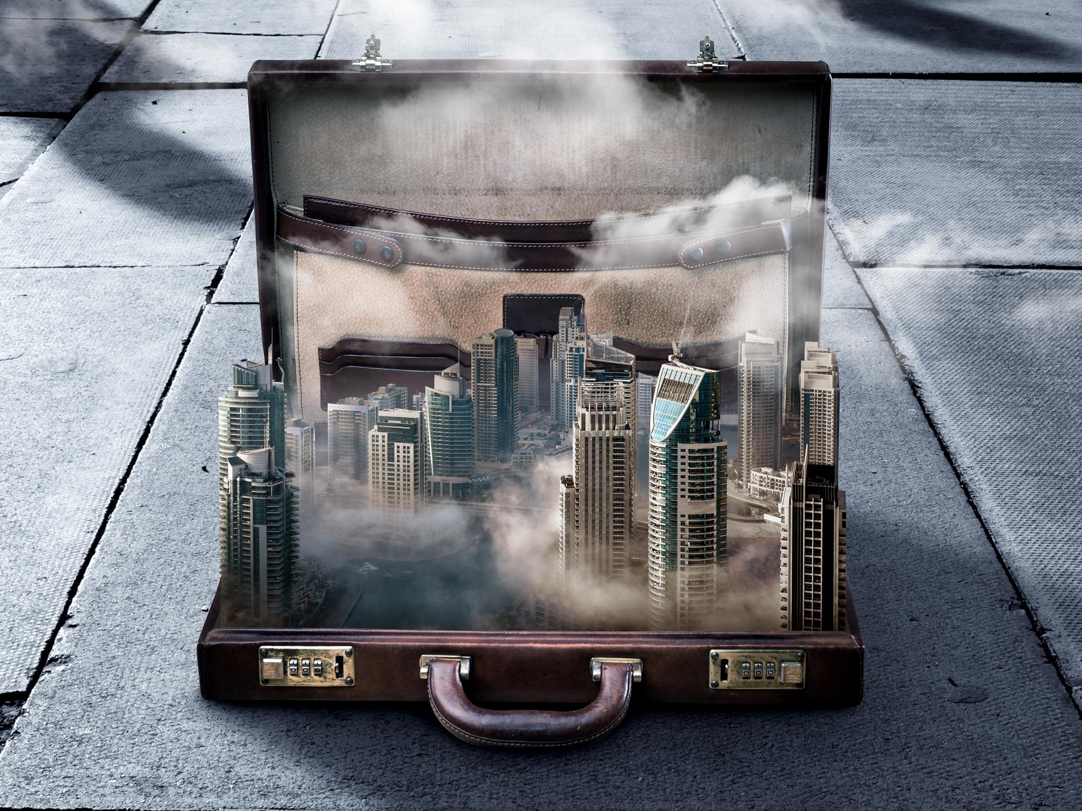 20190318 buildings in a briefcase