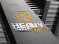 Heavy Component Specialist logo mockup