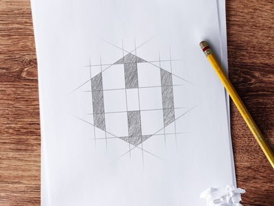 Heavy Component Specialists branding sketch