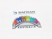 Logo design // Safran Group 