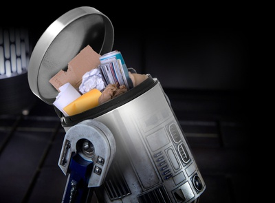 R2D2 comedy funny spaceman star wars day humour humor trash scifi starwars space star wars collage manipulation photoshop