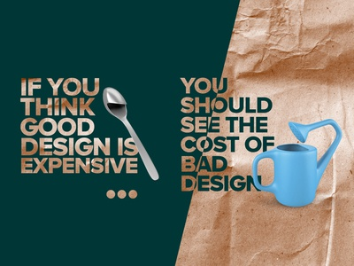 If you think good design is expensive...