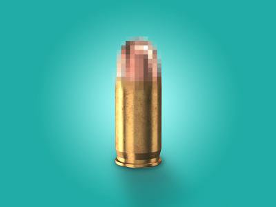 C E N S O R E D pt2 conceptual design conceptual minimalist minimalism simplicity lighting effect turquoise aqua bullet shell shell censored bullets bullet