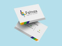 Fatnas Logo and Business Card