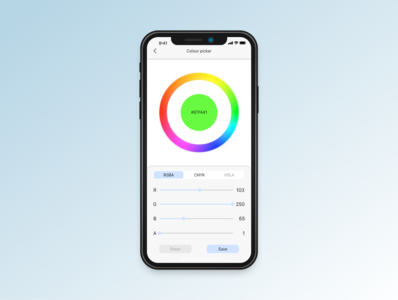 Daily UI practice - 060 Colour picker