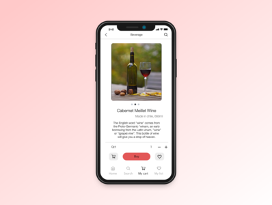 Daily UI practice - 012 e-commerce page