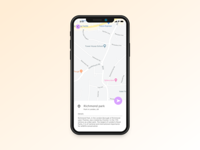 Daily UI practice - 029 Map