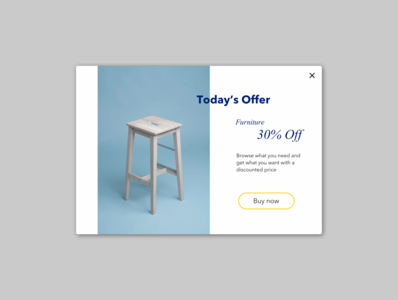 Daily UI practice - 036 Special Offer