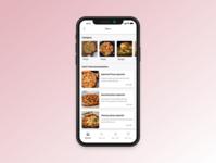Daily UI practice - 043 Food menu