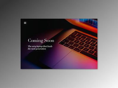 Daily UI pracitce - 048 Coming soon practice design user interface ui dailyui dailyui048