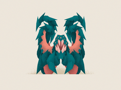 Monstography - W lovecraft letter w monsters monster challenge 36daysoftype font design font design typography typeface type vector minimal illustration character