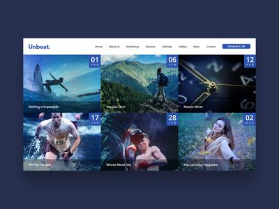 Unbeat Website Design