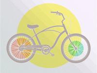 Retro bicyicle