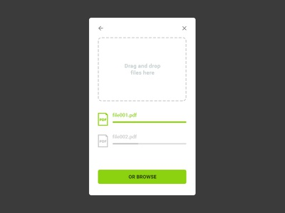 Daily Ui 031 upload file interface design ui daily 031