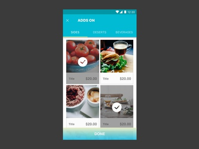 Daily Ui 033 product customize ui daily interface design 033