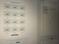 Late night wireframing