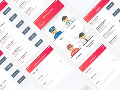 Dribbble app design ui design