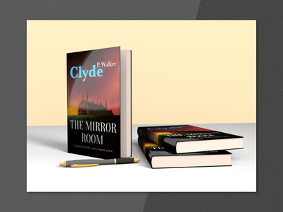 3D Book Cover Mock-Up