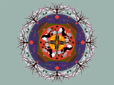 Mulan Mandala
