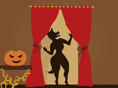 Wolverine   Spooky night night dribbbleweeklywarmup illustration pumpkin wolverine halloween