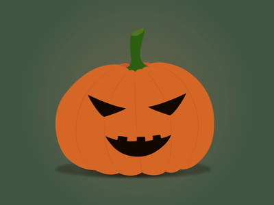 Halloween pumpkin animation dribbbleweeklywarmup animation spooky season pumpkin halloween