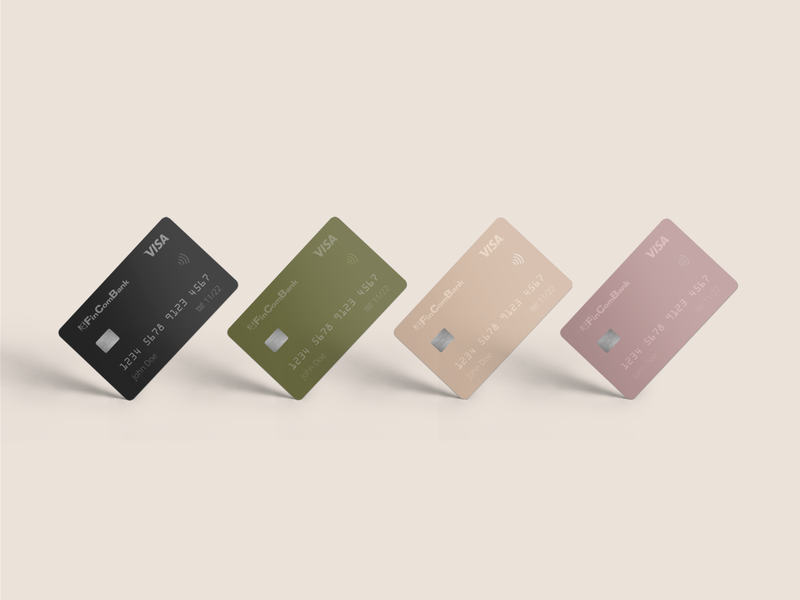 Debit card | Design concept credit card debit card product design branding graphic  design design
